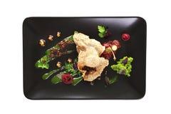 Modern Molecular cuisine. Stock Photos