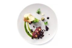 Modern molekylär kokkonst Royaltyfri Bild
