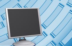Modern monitor Stock Photo