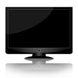 Modern monitor or TV Royalty Free Stock Image