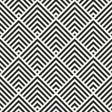 Modern monochrome art decoration square chevrons background Royalty Free Stock Image