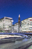 Modern More London Riverside area - London England  UK Stock Photo