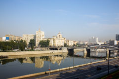 Modern Moscow Royalty Free Stock Images