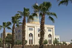 Modern mosk in Raqqa Syria Royalty Free Stock Images
