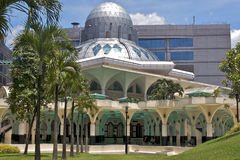 Modern Mosque. Mosque with very contemporal and modern architechture and design Stock Photography