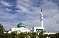 Modern mosque Royalty Free Stock Photo