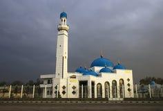 Modern mosque. In Almaty city (Kazakhstan Stock Photo