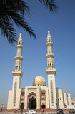 Modern Mosque. On Blue Sky Stock Image