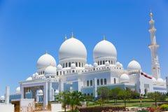 Modern Mosque - Abu Dhabi Royalty Free Stock Photography