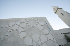 Modern Mosque buidling Stock Photography