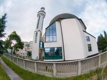 Modern mosque islamic architecture Royalty Free Stock Image