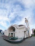 Modern mosque islamic architecture Stock Image