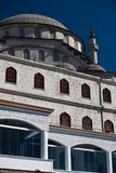 Modern mosque in Istanbul Royalty Free Stock Photo