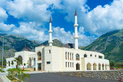 The modern mosque Royalty Free Stock Image