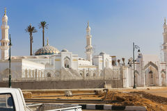 Modern Mosque at new Cairo. Modern new Mosque Muslims at new Cairo City , Egypt royalty free stock photos