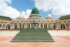 Modern Mosque a place of worship for followers of Islam Stock Photo