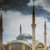 Modern mosque in Turkey Royalty Free Stock Photo
