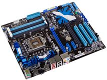 Modern motherboard Royalty Free Stock Photography