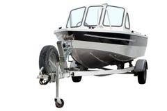 Modern motor boat. Royalty Free Stock Photography
