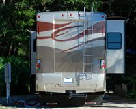 Modern motor home Royalty Free Stock Photography