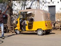 Modern motor rickshaw Madagascar Royalty Free Stock Photography