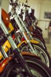 Modern motorbike salon Stock Image