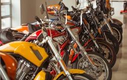 Modern motorbike salon Royalty Free Stock Photo