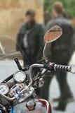 Modern motorcykel Royaltyfria Foton