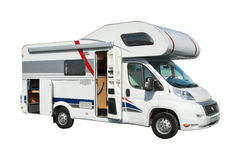Modern motorhome Stock Images