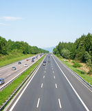 Modern motorway Royalty Free Stock Images