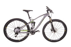 Modern mountain bike Royalty Free Stock Images