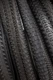 Modern mountain bike tire. Element of bicycle. Large selection of tires. Modern mountain bike tire. Element of bicycle. Large selection of tires royalty free stock image