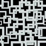 Modern Mozaïek Backgound Vector naadloze textuur Abstract Geometrisch patroon Stock Afbeelding