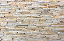Modern Multi Color Stone, slate travertine sandstone Wall used for Background. Modern Multi Color Stone Wall used for Background Royalty Free Stock Photography