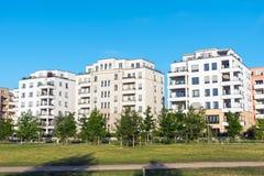 Modern Multi-family Houses In Berlin Stock Images