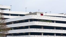 Modern multi-storey car park Royalty Free Stock Image