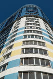 modern multi-storey residential building on background of blue sky Royalty Free Stock Photos