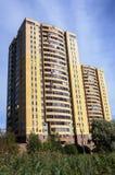 Modern multi-storey residential building Royalty Free Stock Photos