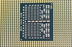 Modern multicore CPU texture Stock Images