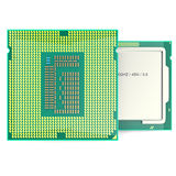 Modern multicore CPU  on white background. 3d illustration Stock Photos