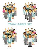 Modern multicultural business people team concept Stock Photos