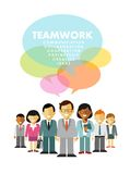 Modern multicultural business team concept with Stock Images