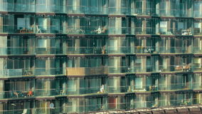 Modern multistorey apartment block Royalty Free Stock Photo