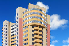 Modern multistory apartment building royalty free stock image