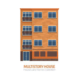 Modern Multistory House Stock Photos