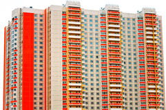 Modern multistory residential building Royalty Free Stock Photos