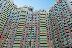 Modern multistory residential buildings in Moscow, Russia Stock Image