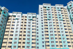 Modern multistory residential buildings in Moscow, Russia Royalty Free Stock Photo