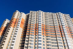 Modern multistory residential buildings Stock Photography