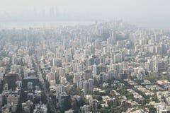 Modern Mumbai. Aerial view of sky scrapper new high rise buildings in Mumbai, India stock photos